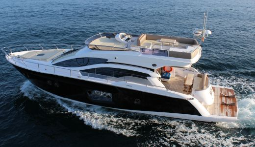 2012 Sessa Marine Fly 54