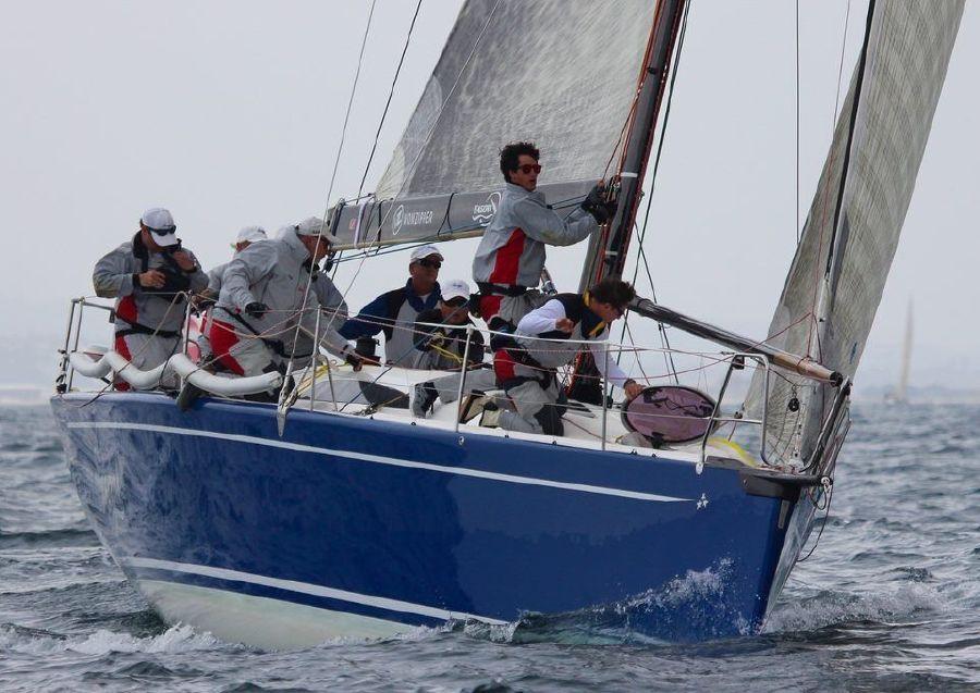 2008 Summit King 40 Sailboat Racing