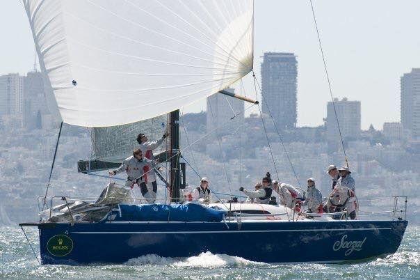 Summit-King 40 Sailboat Racing