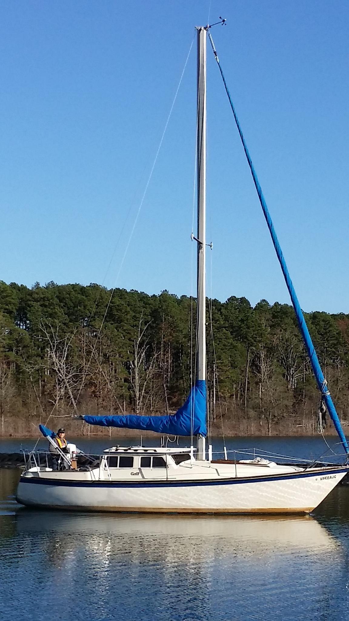 1980 Capital Gulf 29 Sail Boat For Sale - www yachtworld com