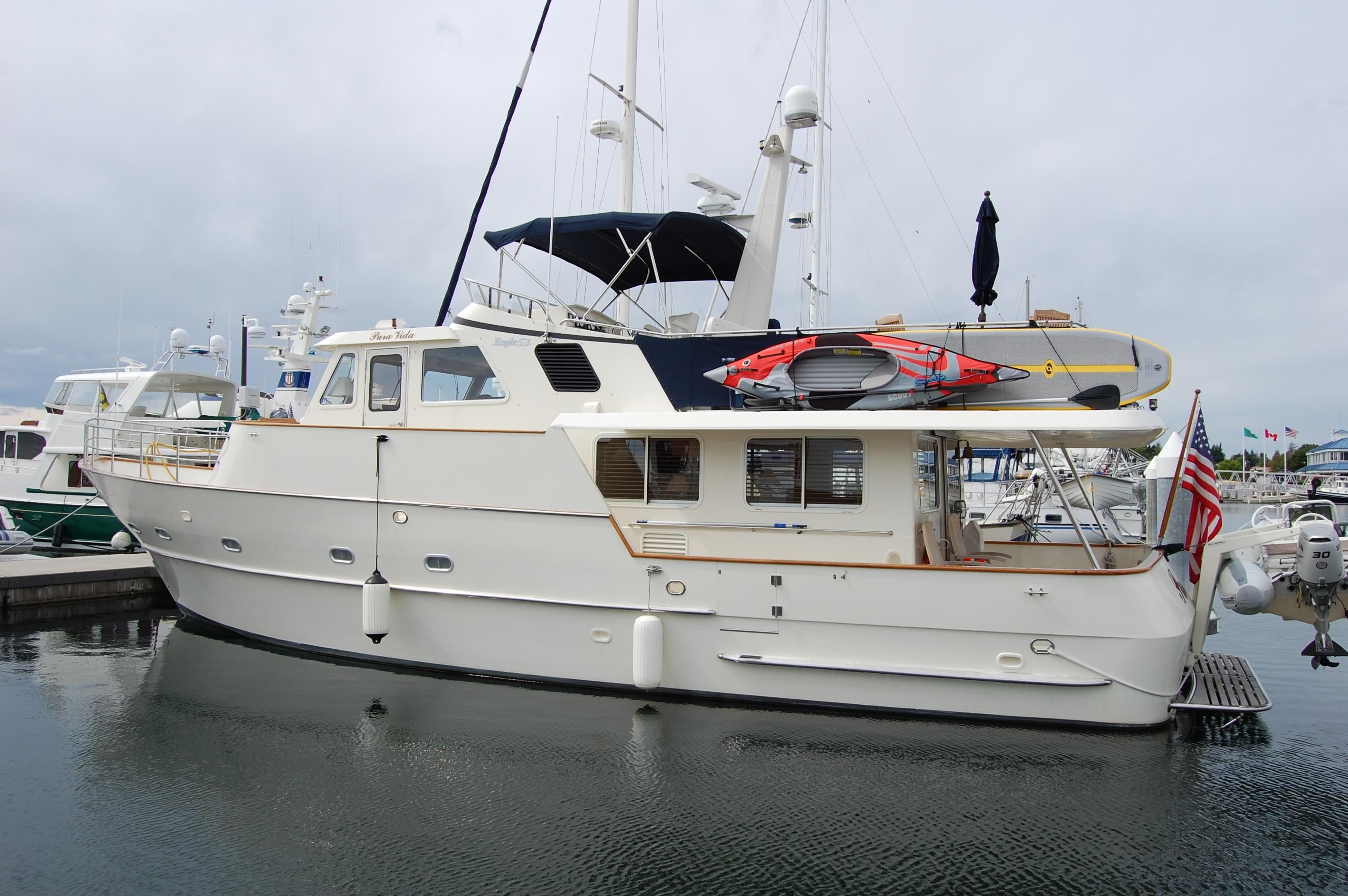 2002 Eagle Pilothouse Power Boat For Sale Www Yachtworld Com