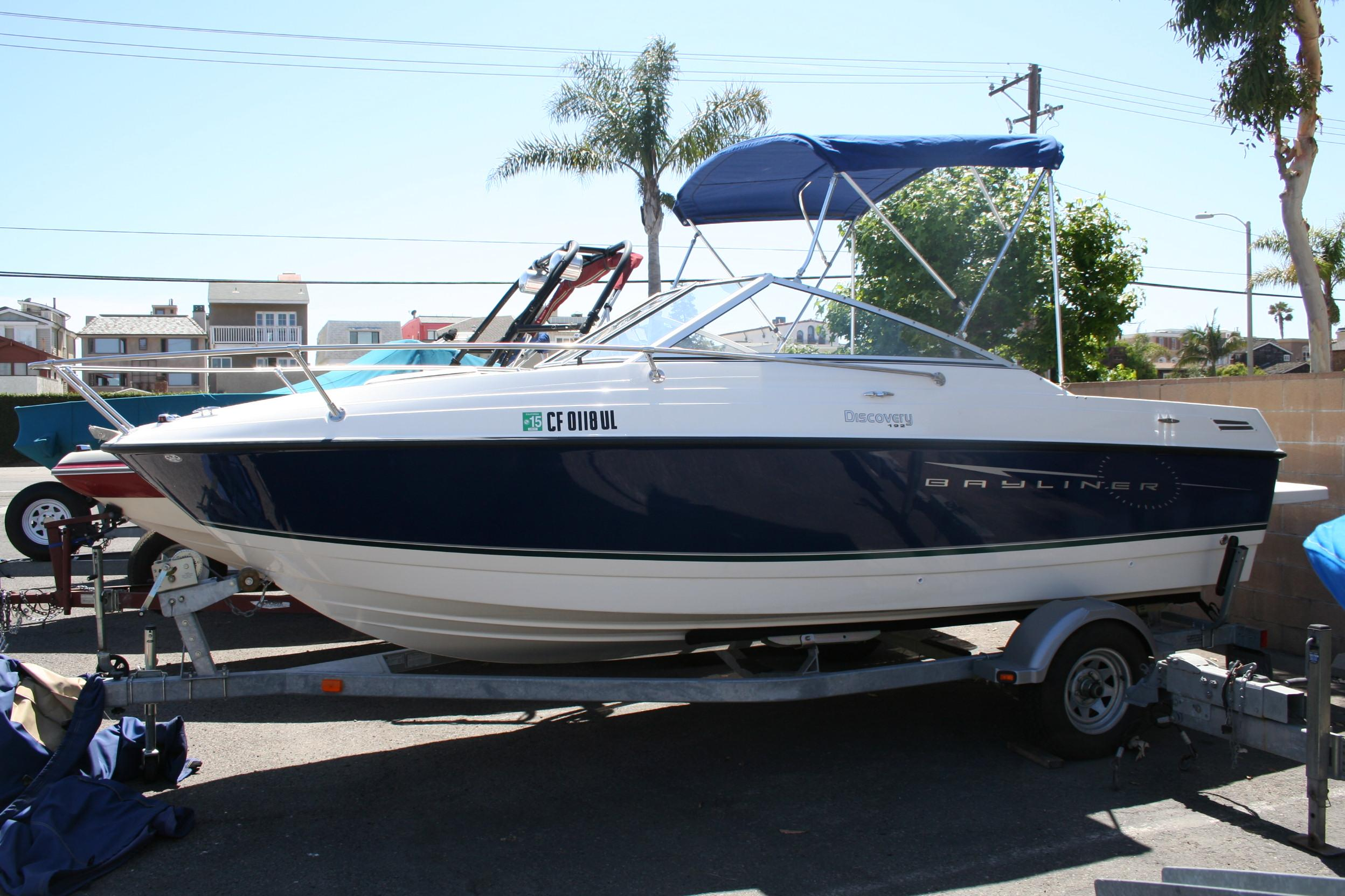 19 ft 2009 bayliner 192 discovery cuddy