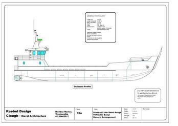 2012 Raebel 35m Landing Barge