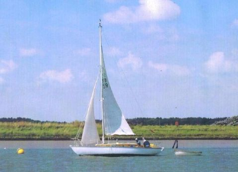 1960 Folkboat 25