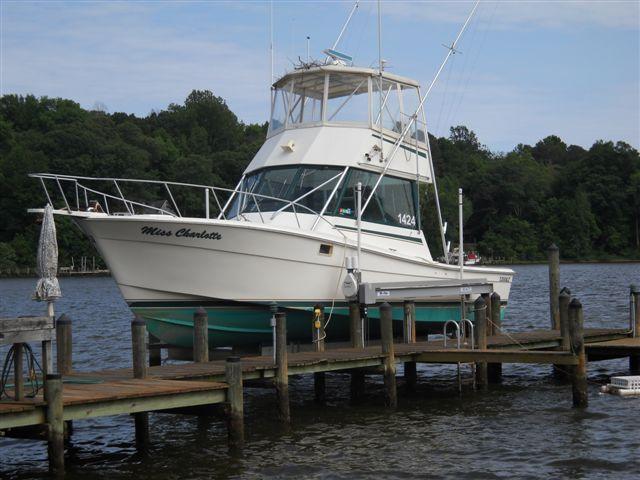 37 ft 1987 topaz 37 custom sportfisherman
