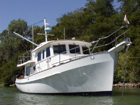 1999 Krogen 39 Pilothouse Trawler Stabilized