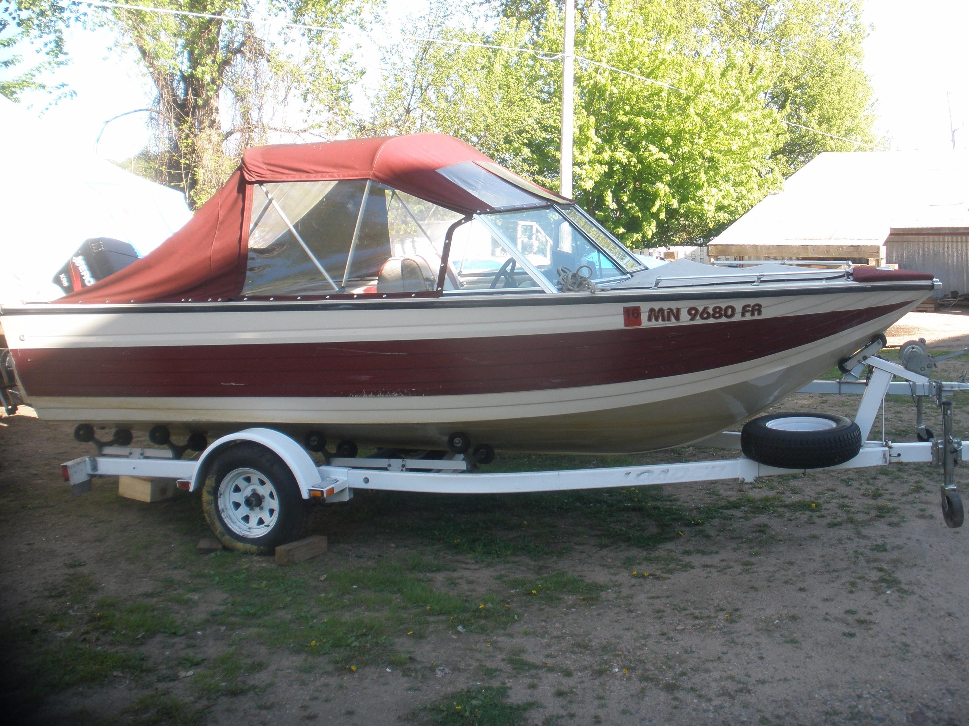 1989 Crestliner Phantom Power Boat For Sale Www