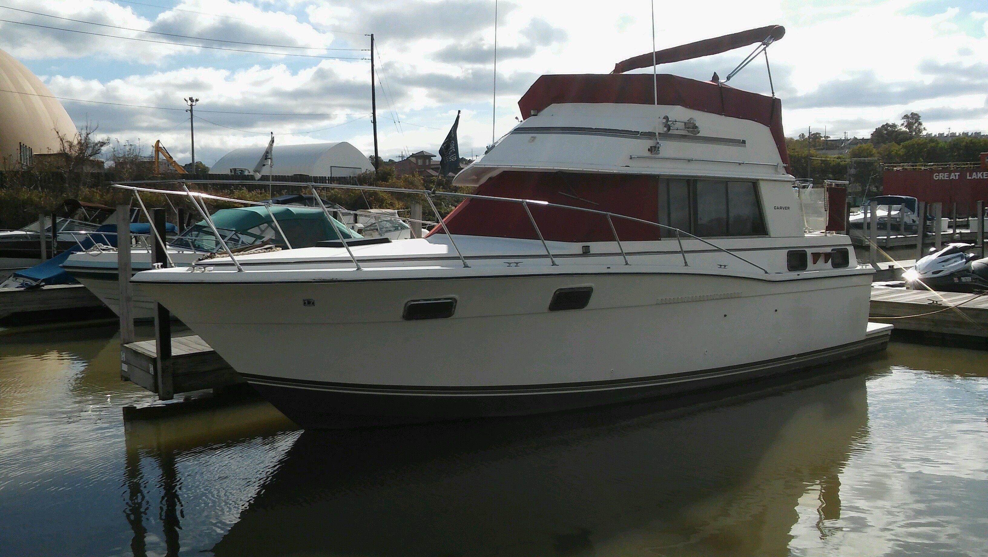 1982 Carver 30 Aft Cabin Power Boat For Sale Www