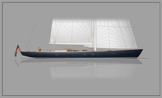 2016 Brooklin Boat Yard 82' Modern Classic Sloop