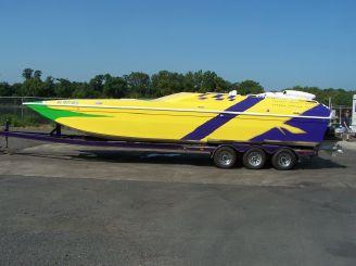 1995 American Offshore 3100 Cat