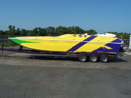1995 American Offshore 3100 Cat
