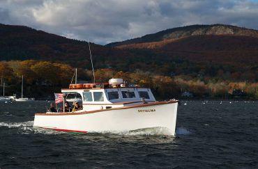 1945 Camden Maine Classic Lobster Yacht