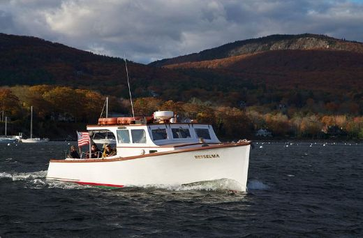 1945 Camden Maine Classic Lobster Yacht