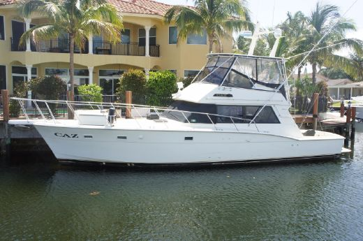 1984 Hatteras 52 Convertible FRESH ENGINES!!!