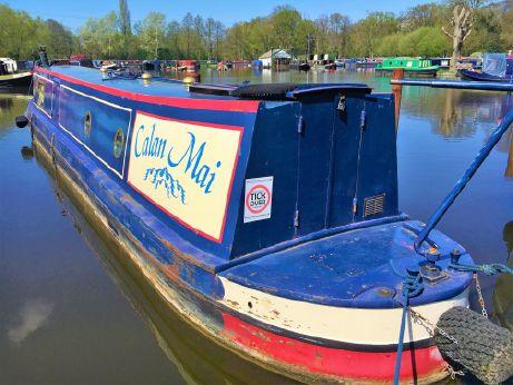 2001 Narrowboat Heron Boatbuilders 45'