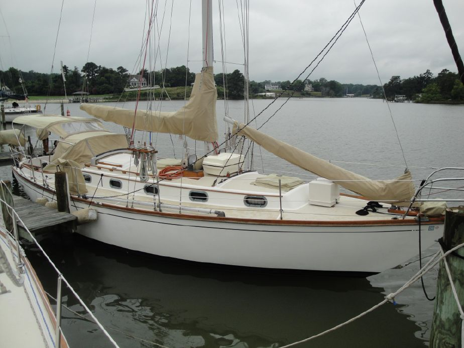 Used Cape Dory Navigator Fiberglass Prices - Waa2