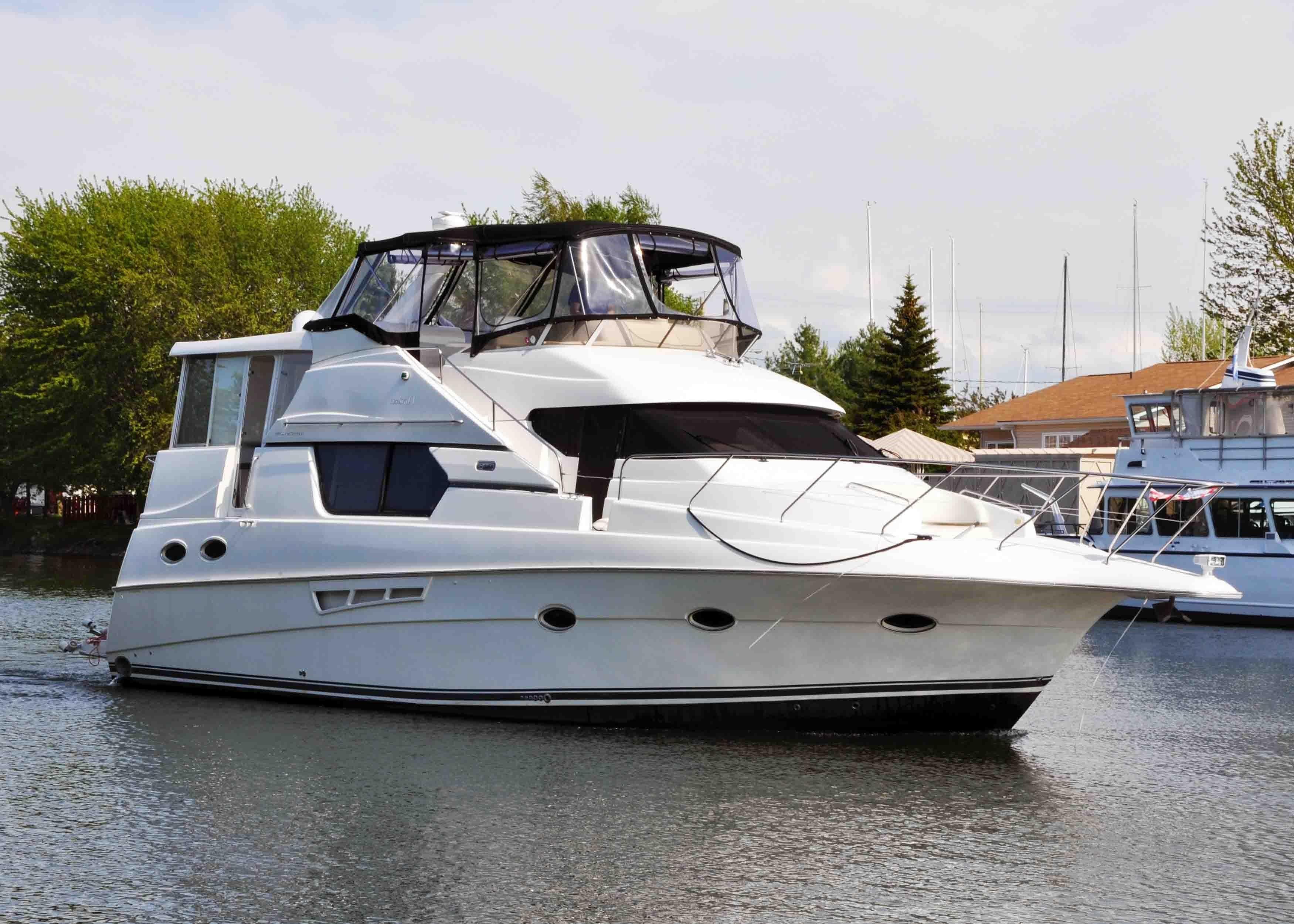 1999 silverton 453 motor yacht power new and used boats