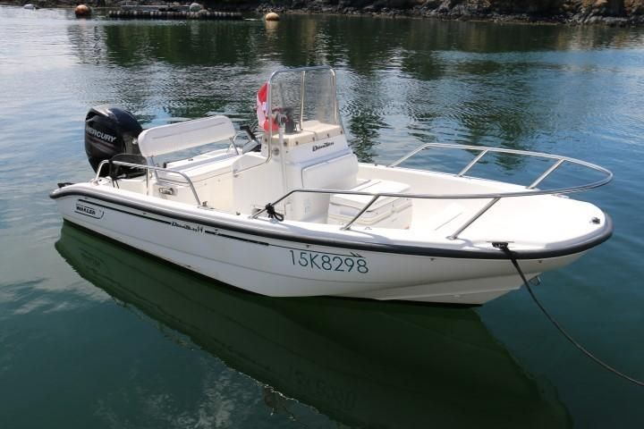 2000 Boston Whaler Dauntless 14 Power Boat For Sale - www