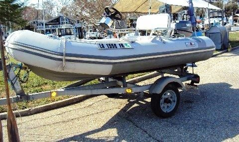 2001 Avon Rover RIB 340 With Trailer
