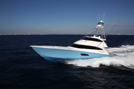2016 Viking Yachts 92 Enclosed Bridge