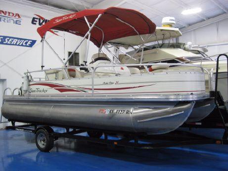 2008 Sun Tracker Fishin' Barge 21 Coastal