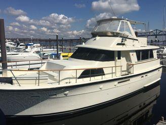 1985 Hatteras Motor yacht ED