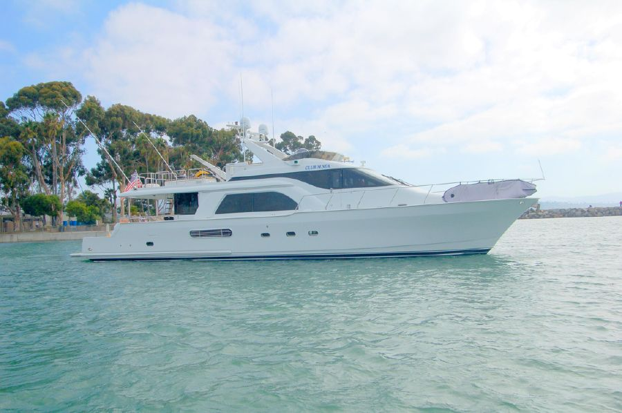photo of 70' Queenship 70 Pilothouse Motoryacht