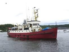 1960 Russel-Hipwell Custom Yacht Steel converted CCG vessel