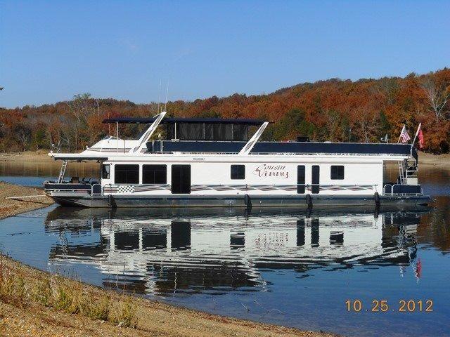 1999 sumerset 18 x 85 houseboat motor b d til salg www for Somerset motors somerset ky