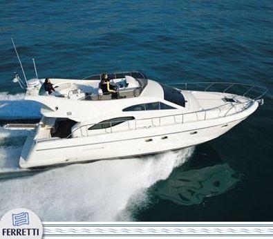 2001 Ferretti 430
