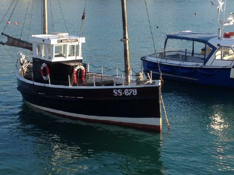 1993 Traditional St Ives Fishing lugger