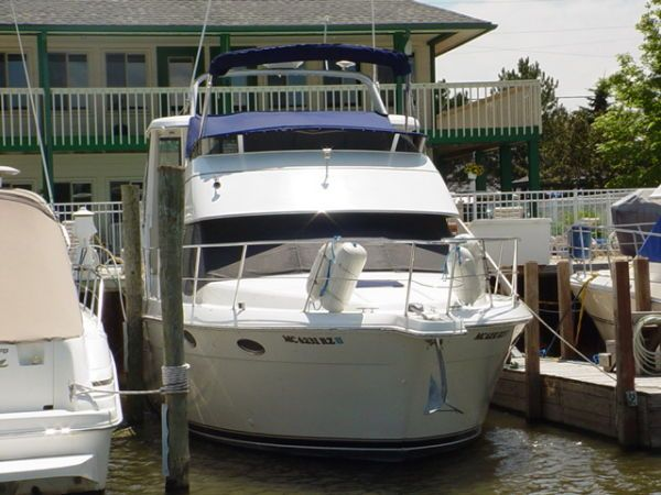 2000 carver 356 aft cabin motor yacht power new and used boats for Klakring motor co annapolis