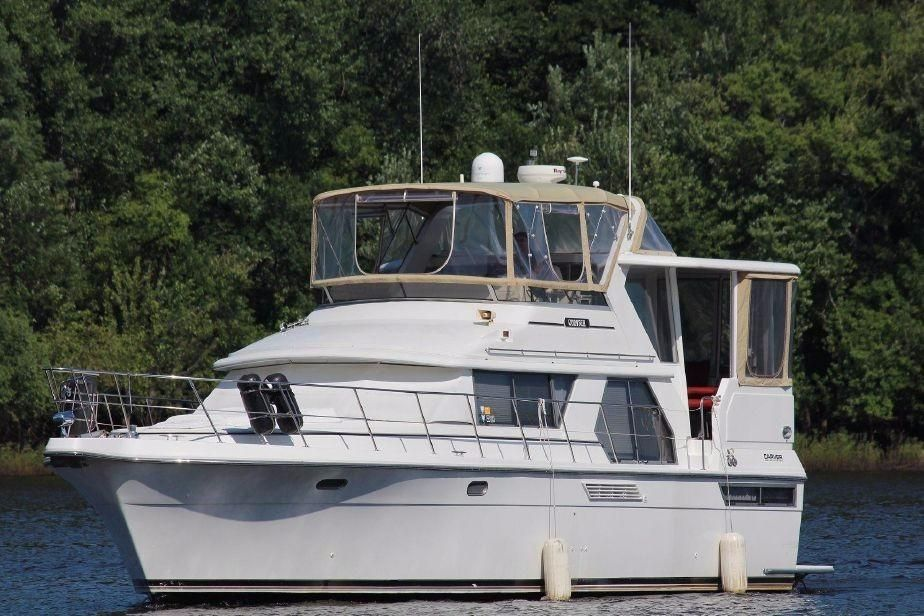 1994 carver 440 aft cabin motor yacht power boat for sale for Carver aft cabin motor yacht