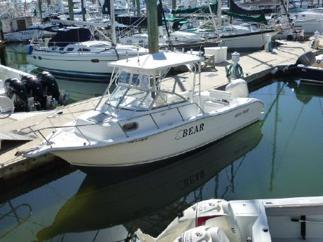 2004 Sea Pro 238 Walk Around