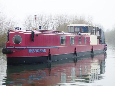 2004 Narrowboat 55 Barge Stern-Ledgard Bridge