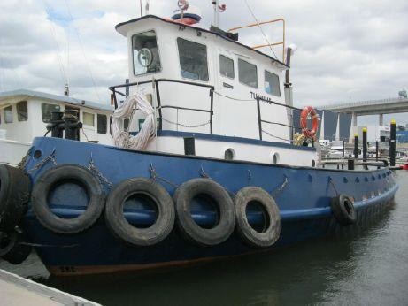 1965 Custom Steel 50' Tug