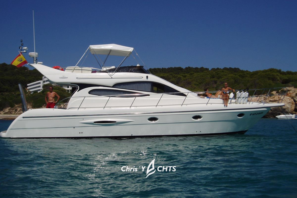 2004 doqueve 460 majestic power boat for sale