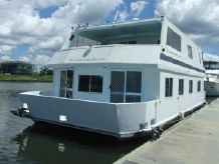 1996 Custom 48' Houseboat