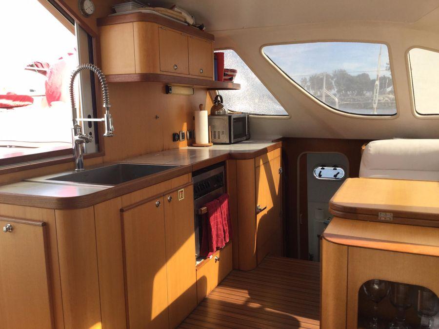 Catana 431 Catamaran sailing for sale