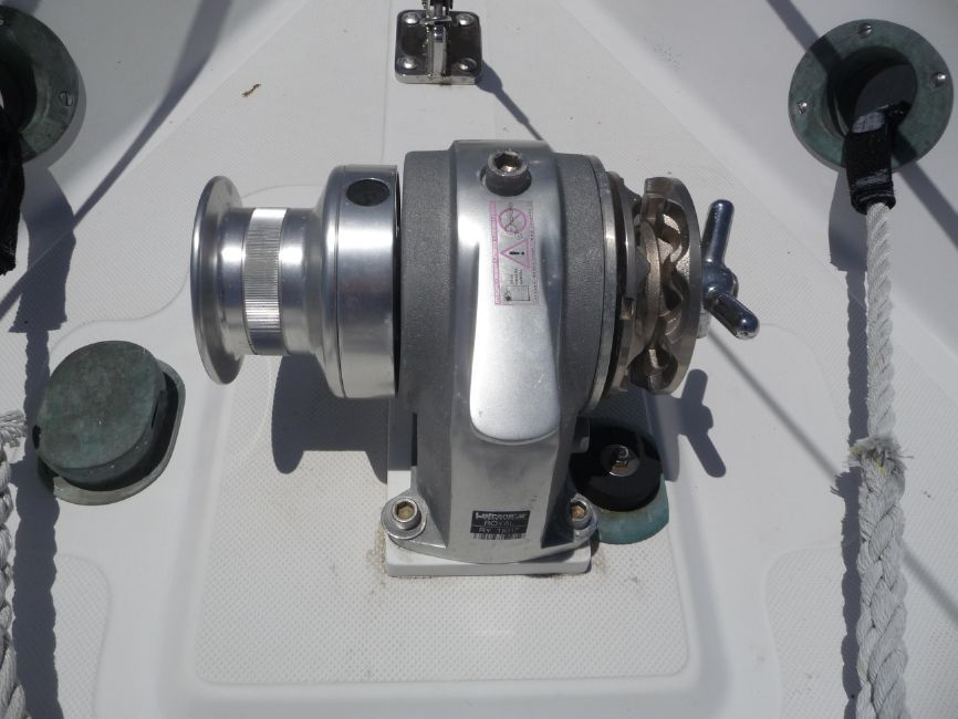 Pacific Seacraft Anchor Windlass