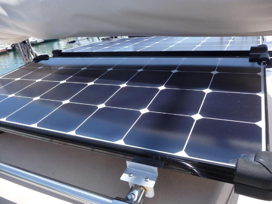Pacific Seacraft 31 Solar Panels