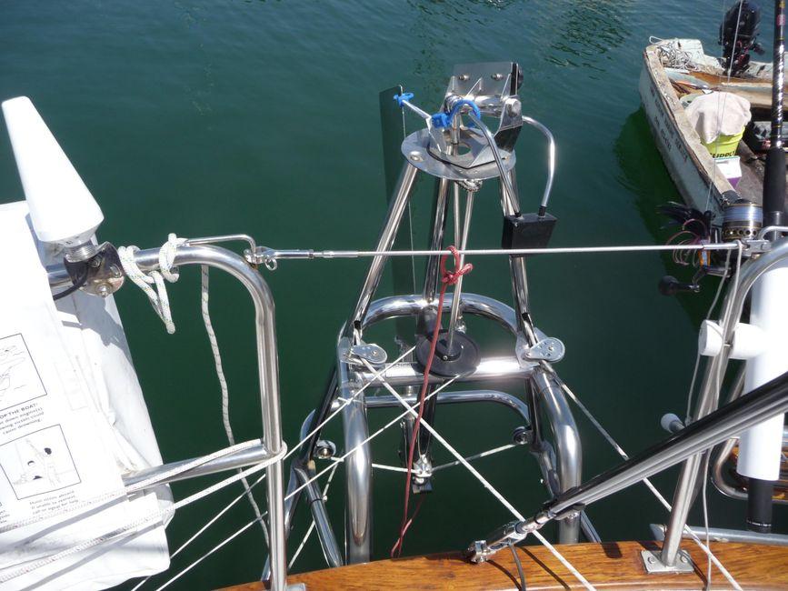 Pacific Seacraft 31 Stern Gear