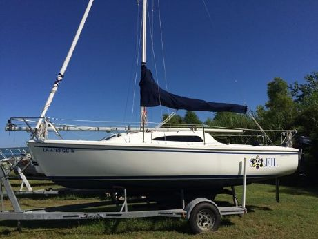 2008 Catalina Sport with Galvanized Trailer