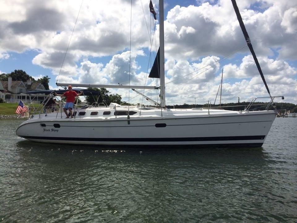 2000 Hunter 460 Sail Boat For Sale Www Yachtworld Com