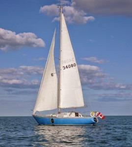 1973 Ontario Yachts Viking 33
