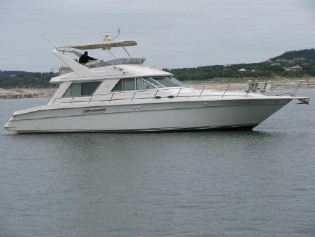 1996 Sea Ray 550 Sedan Bridge