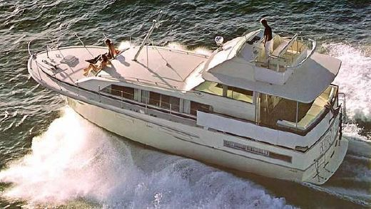 1975 Bertram 46 Flybridge Motor Yacht