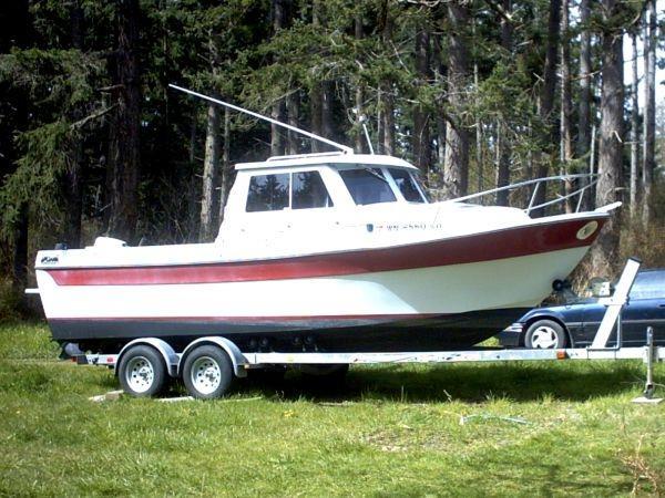 22 ft 1988 sea sport sportsman 2200 limited