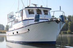 1972 Bluewater 40 Trawler Pilothouse