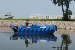 2019 Ribjet Custom Aluminum Push Boat